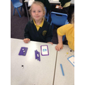 Year 1 use Dienes equipment to represent numbers