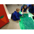 Year 1 help to make our Remembrance display!