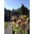 Year 1 visit their local area!