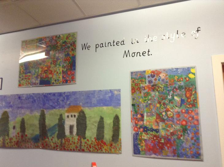 We explored Monet.