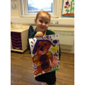 Emily painted a picture of 'The Gingerbread Lady'.