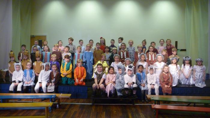 Our whole cast