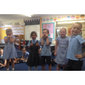 We enjoyed acting out different beginnings.