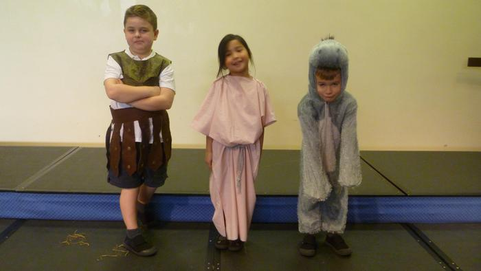 Our Judges: Donkey, Inkeeper's Wife and Caesar
