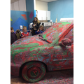 Painting a real car!