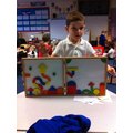 Making our own pictures using 2D shapes.