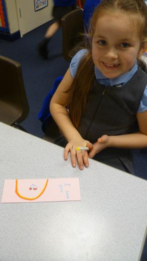Creating our own bookmarks! (3).JPG