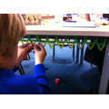 Making patterns with 2D shapes.