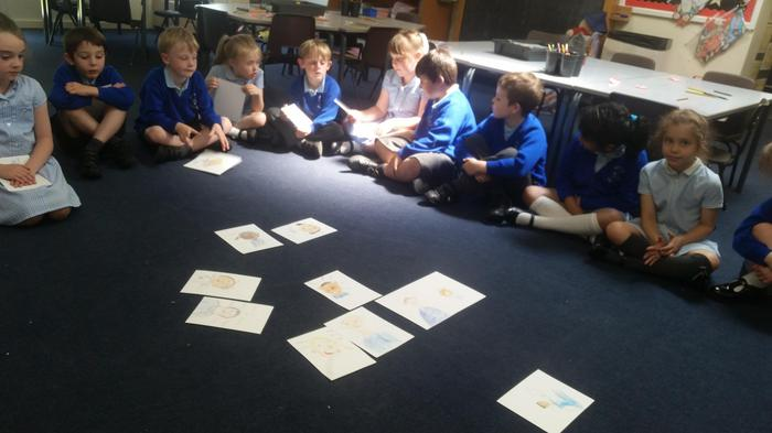 Drawing our peers in our Friendship theme