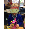 Pirate mask making.