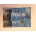 A selection of our amazing snow man art