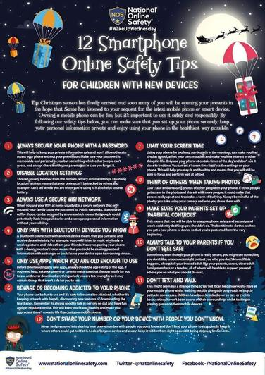12 Smartphone Online Safety Tips