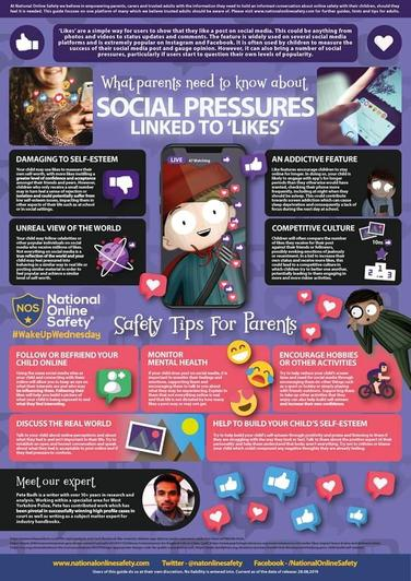 Social Pressures linked to 'Likes'