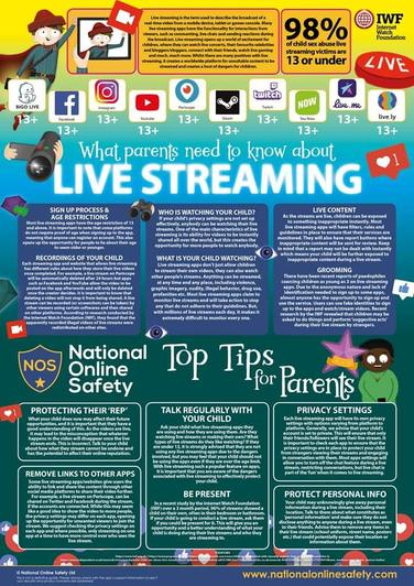 What parents need to know about live streaming