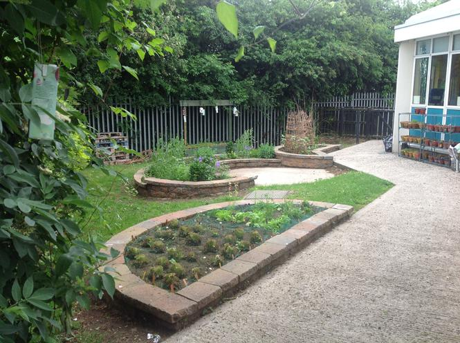Our Finished Eco Garden