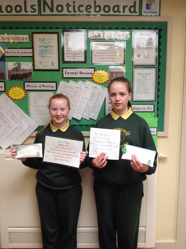Our Eco Code winners with their prize
