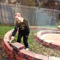 Laying the bricks