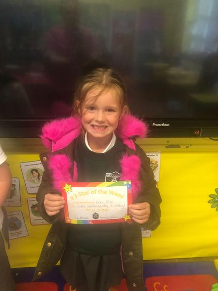 Well done to our P4 star of the week!