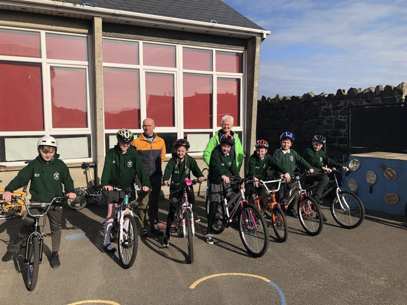 P7 National Standards and Cycling training.