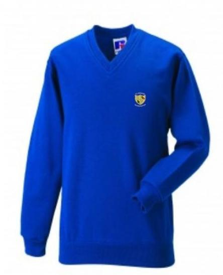 School sweatshirt