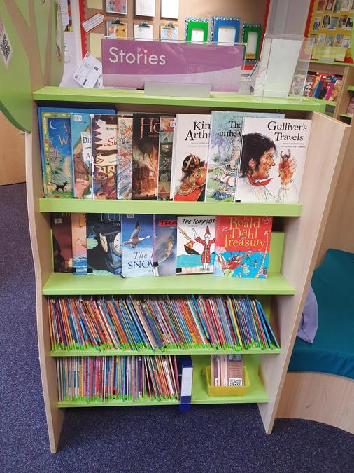 Picture books for older children, rapid readers for advanced Key Stage 1 readers.