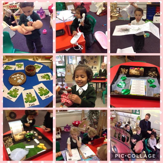 Enjoying World Nursery Rhyme Week! How many different rhymes can you spot?