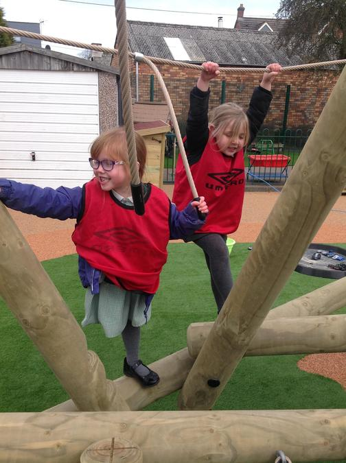 Developing core strength and balance skills