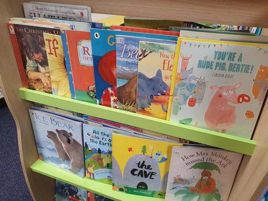High quality picture books to share.