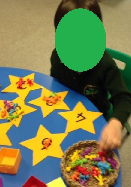 Counting and matching problem solving.