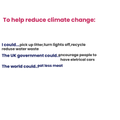 Understanding the impact of Climate Change