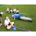 Mr Evans showed us how he does the plank!