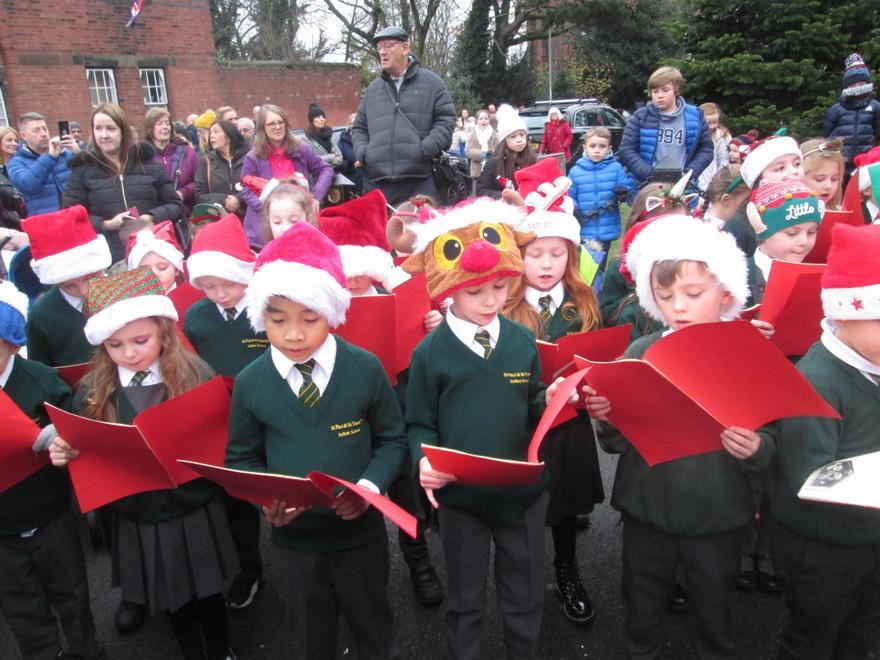 Singing in West Derby Village