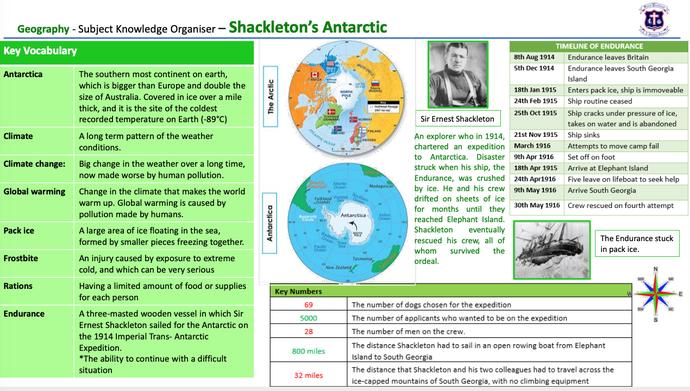 Y6 Shackleton's Antarctic