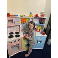 Wonderful kitchen role play!