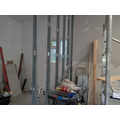 Inside partition wall - Week 6