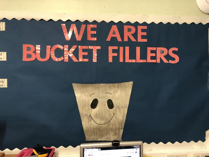 When we are kind, caring, loving, supportive, and helpful we fill ours and others buckets