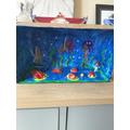 Elsie's fantastic aquarium! :)