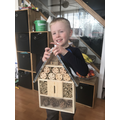 James' bug house!