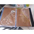 Tianna's amazing Dinosaur Skeletons