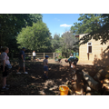 Ground clearing day 2, June 2019