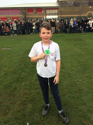 Congratulations Franky, first in Bexley!