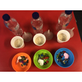iSpy sensory bottle prep!