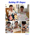 Joshua's 3D shapes!