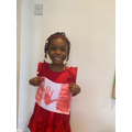 Happy Canada Day from Eliana :)