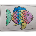 Ariella's rainbow fish :)