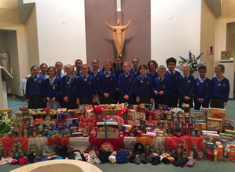 Thank you for the Harvest Festival contributions!