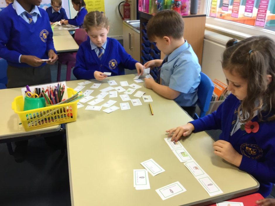 Sequencing the story of Little Red Riding Hood