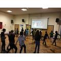 Dancing lesson!
