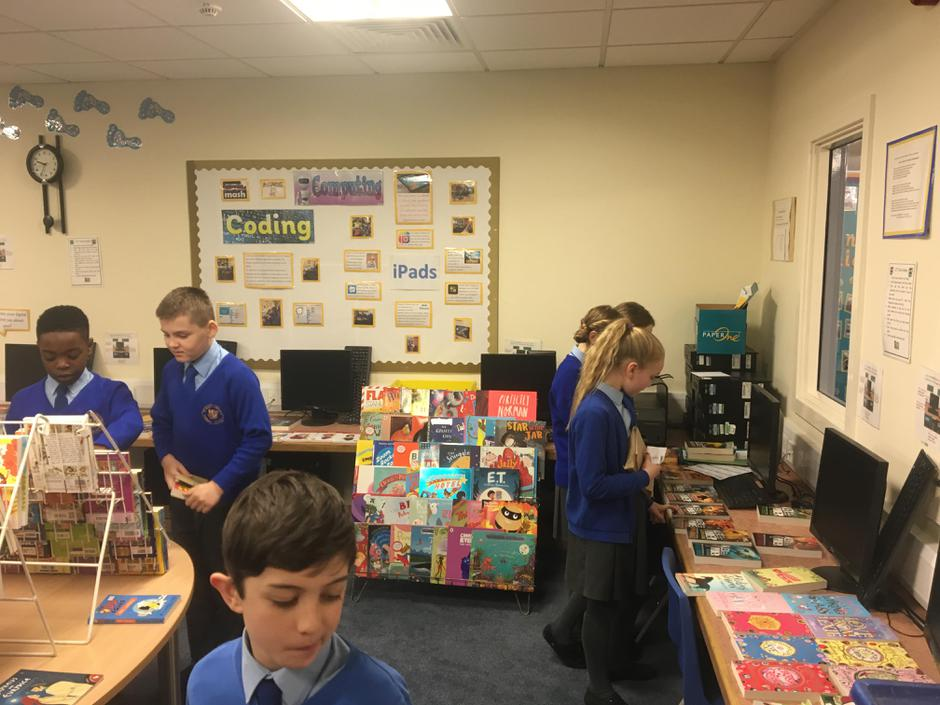 Monday's book fayre.