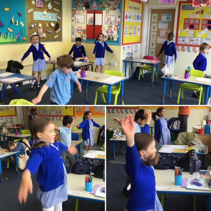 Daily fitness in one of the Year 1 bubbles.